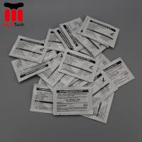 Quality Pre Saturated Alcohol Cleaning Wipe Magicard Cleaning Card 99.9% IPA Solution for sale