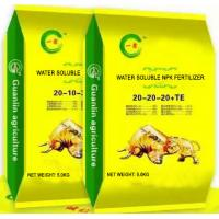 Quality Water Soluble Fertilizer NPK 20-10-30+TE for sale