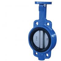 China Cast Iron Resilient Seated Butterfly Valves DN50 ~DN3000 For Sewage on sale