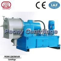 Quality Plc Control 2 Stage Pusher Separator - Centrifuge For Sea Salt Dewatering for sale
