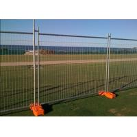 Buy cheap Temporary Security Fence Panels , Building Site Fencing 2.4m Length from wholesalers