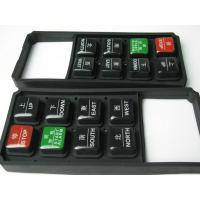 China Long Life Tactile Epoxy Silicone Rubber Keypad / Conductive Rubber Keypads on sale