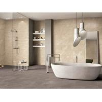 Quality 60*60cm Anti-Slip Stone Look Porcelain Tile Low Water Absorption ceram yellow Barthroom Wall Tile for sale