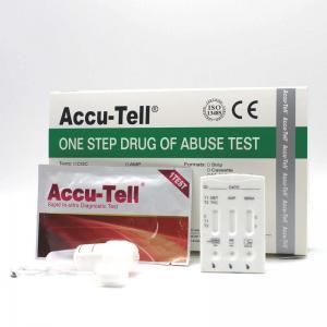 Quality Accu-Tell® Multi-Drug Saliva Rapid Test Cassette for sale