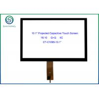 "Quality 10.1"" I2C Interface ProCap Touch Screen For Touch Handheld Devices, 16:10 COF Type GT928 Controller for sale"