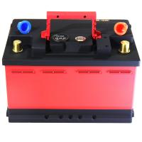 Quality Red And Black Lifepo4 Battery Cells / Lithium Phosphate Car Battery CE FC RoHS for sale