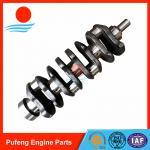 Quality Isuzu crankshaft 4JB1T made of forged steel 8-97254-611-1 8-97352-890-1 8-97331-853-1 8-94453-525-2 for sale