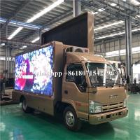 Quality Mobile Billboard LED Advertising Truck Display P4 P5 P6 For Road Show for sale