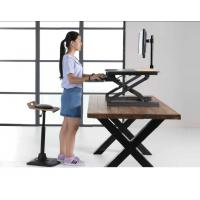 Quality Gas Spring Riser Height Adjustable Standing Desk Ergonomics Monitor Height for sale