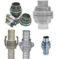China Fire Fighting Equipment Fire Hose Couplings Aluminum / Brass Storz Hose Fittings on sale