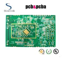 Quality Quick turn single layer printed circuit board , 1 layer Green printed circuit board for sale