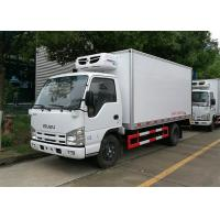Quality ISUZU 100P Freezer Box Truck , 2 Ton Commercial Refrigerated Trucks -20 Celsus Degree for sale