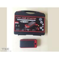 Quality Red 12000mAh Jump Starter Kit with Both Home and Car Adpator Mobile Phone Switch for sale