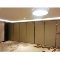 Buy cheap Sliding Track Wheels Aluminium Frame Restaurant Folding Sound Proof Partitions from wholesalers
