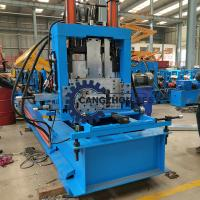 Quality 4-6m / Min C And Z Purlin Roll Forming Machine Steel Channel Quick Change Making for sale