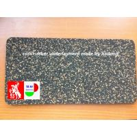 Quality Non Toxic Soundproofing Floor Underlay , Shock Sound Absorbing Carpet Underlay for sale