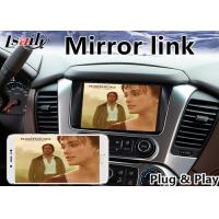 Buy Chevrolet Suburban Android Navigation Box with Mylink System 2015-2018 Waze at wholesale prices