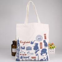 China Custom Logo Printed Reusable Shopping Bags With Cotton , Foldable Shopping Bag on sale