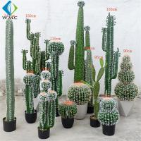 Various Type Artificial Bonsai Tree , Fake Cactus Plant For Theme Attractions for sale