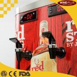 Quality 2 Bottle Holders Refrigerated Liquor Dispenser For Restaurants / Hotels for sale