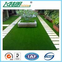 Quality Decoration Laying Fake Grass Turf / PE Curly Landscape Artificial Grass for sale