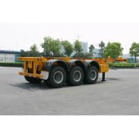Quality ISO Skeletal or Flatbed type Tank Container Trailer Chassis 40ft / Semi-Trailer for sale