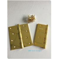 Buy cheap GP Golden Plated Steel Ring Ball Bearing Door Hinges 2.7 Mm 2.5mm 3.0mm from wholesalers