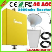 Quality 1 SET RF booster 4G 2600mhz mobile phone repeater LTE 4G booster AGC MGC 4G cell phone sig for sale