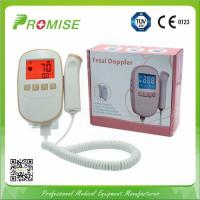 """Quality Pink & Gold Sonoline Ultrasonic Fetal Doppler for FHR fetal heart rate with Large 2.4"""" backlight LCD display for sale"""