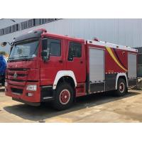 Quality 10t 12t Sinotruk Howo Heavy Rescue Truck Dry Powder And Foam Combined Use for sale