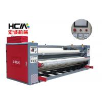 Quality 420mm Diameter Fabric Rotary Roller Heat Press Machine Speed Customized for sale