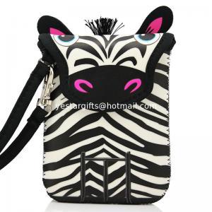 Quality Mini Wallet Kids Neoprene Camera Case , 3mm Lovely Zebra Neoprene Camera Pouch for sale