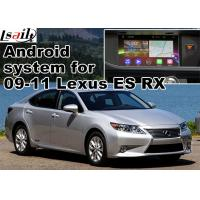 Quality Lexus ES RX NX IS Car GPS Navigation System with rear view touch screen TV video cast screen Android 5.1 for sale