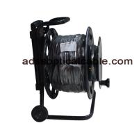 Quality Armored Reinforced Tactical Fiber Optic Cable 6 8 Cores GJFJU Compact Structure for sale
