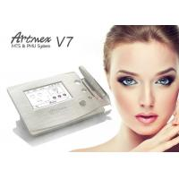 Buy cheap Gold Metal Shell Semi Permanent Eyebrows Makeup Machine Touch Screen With Pedal from wholesalers