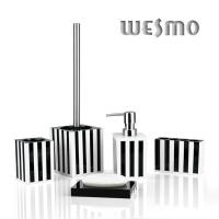 Quality 5 Piece  Modern Resin Bathroom Accessories Sets for sale