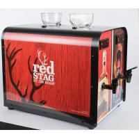 Quality Double Tank Refrigerated Liquor Dispenser Customized Sticker For Bars / Pubs for sale