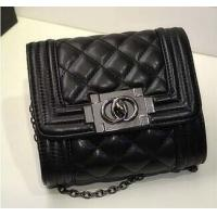 China drop shipping artificial leather brand design bags small size with metal chain on sale