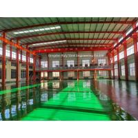 Quality Pre Manufactured Structural Steel Portal Frames With Floor Coat SGS Certification for sale