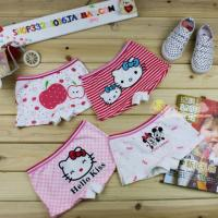 Buy cheap OEM Custom HELLO KITTY Thong Organic Childrens Underwear for Girls  product