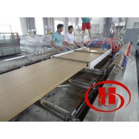 Quality CE certificated ecological wood plastic composite extrusion machine for sale
