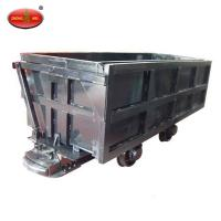 Quality MCC Side-discharging Mining Coal Cart with Hopper for sale