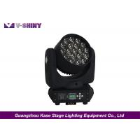 Buy cheap 12w X 19pcs Rgbw 4 In 1 Dmx Moving Head LED Lights With Zoom Function from wholesalers