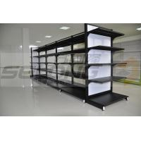 Professional Supermarket Display Racks , Supermarket Gondola Shelving Units