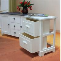 Buy cheap European Style Indoor Storage Cabinets Carved Small Cabinet Bedside Table For Low Bed product