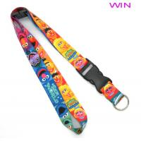Quality Cute Heat Transfer Lanyard Polyester , Dye Sublimation Lanyard for sale