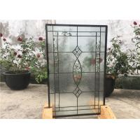 Quality Contemporary Collection Solid Flat  Decorative Tempered Glass Windows for sale