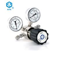 China Single Stage Pressure Gauge Stainless Steel For Laboratory / Instrumentation on sale