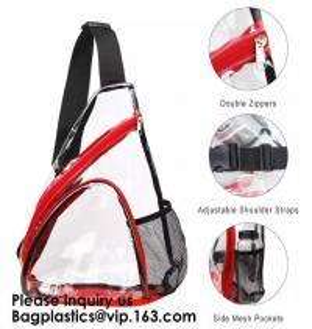 China Clear PVC backpack Stadium Approved Transparent Backpack,School Backpack Bag, Transfer Backpack Fashion transparent on sale