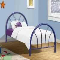 Buy cheap Modern metal frame bed, attractive design with color customized product